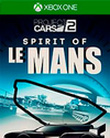 Project CARS 2 Spirit of Le Mans Pack DLC for Xbox One