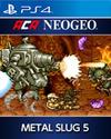 ACA NEOGEO METAL SLUG 5 for PlayStation 4