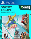 The Sims 4 Snowy Escape Expansion Pack for PlayStation 4