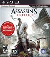 Assassin's Creed III for PlayStation 3