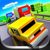 Blocky Highway: Traffic Racing for Android