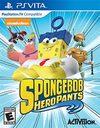 Spongebob Hero Pants The Game 2015 for PS Vita