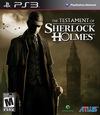 The Testament of Sherlock Holmes for PlayStation 3