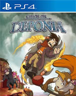Chaos on Deponia for PlayStation 4