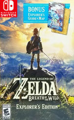 The Legend of Zelda: Breath of the Wild Explorer's Edition