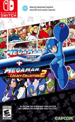 Mega Man Legacy Collection + Mega Man Legacy Collection 2 for Nintendo Switch