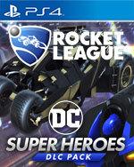 Rocket League: DC Super Heroes DLC Pack for PlayStation 4