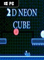 2D Neon Cube