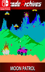 Arcade Archives: MOON PATROL for Nintendo Switch
