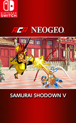 ACA NEOGEO SAMURAI SHODOWN V for Nintendo Switch
