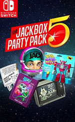 The Jackbox Party Pack 5 for Nintendo Switch