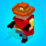 Angry Gun: fun shooting games for free in voxel for Android
