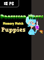 Professor Watts Memory Match: Puppies