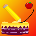 Cake King : Drawing Game - Free Puzzle for Android