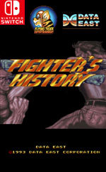 Johnny Turbo's Arcade: Fighter's History for Nintendo Switch