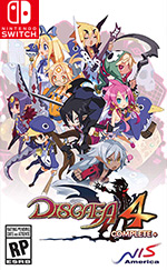 Disgaea 4 Complete+ for Nintendo Switch