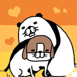 Panda and Dog: Always Dog Cute for iOS