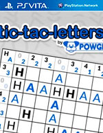 Tic-Tac-Letters by POWGI for PS Vita