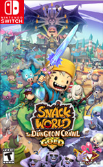 SNACK WORLD: THE DUNGEON CRAWL — GOLD