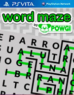 Word Maze by POWGI for PS Vita