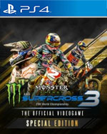 Monster Energy Supercross 3 - Special Edition for PlayStation 4