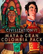 Sid Meier's Civilization VI - Maya & Gran Colombia Pack for PC