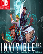Invisible, Inc. Nintendo Switch Edition for Nintendo Switch