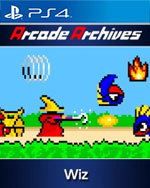 Arcade Archives Wiz for PlayStation 4