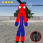 Amazing Spider-StickMan Rope Hero Gangstar Crime for Android