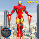 Super Iron Rope Hero - Fighting Gangstar Crime for Android
