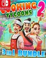 Cooking Tycoons 2 - 3 in 1 Bundle