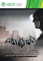 Batman: Arkham Origins Blackgate - Deluxe Edition for Xbox 360