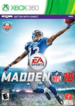 Madden NFL 16 for Xbox 360