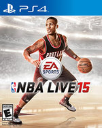 NBA Live 15 for PlayStation 4