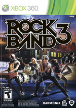 Rock Band 3 for Xbox 360