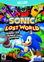 Sonic Lost World for Nintendo Wii U