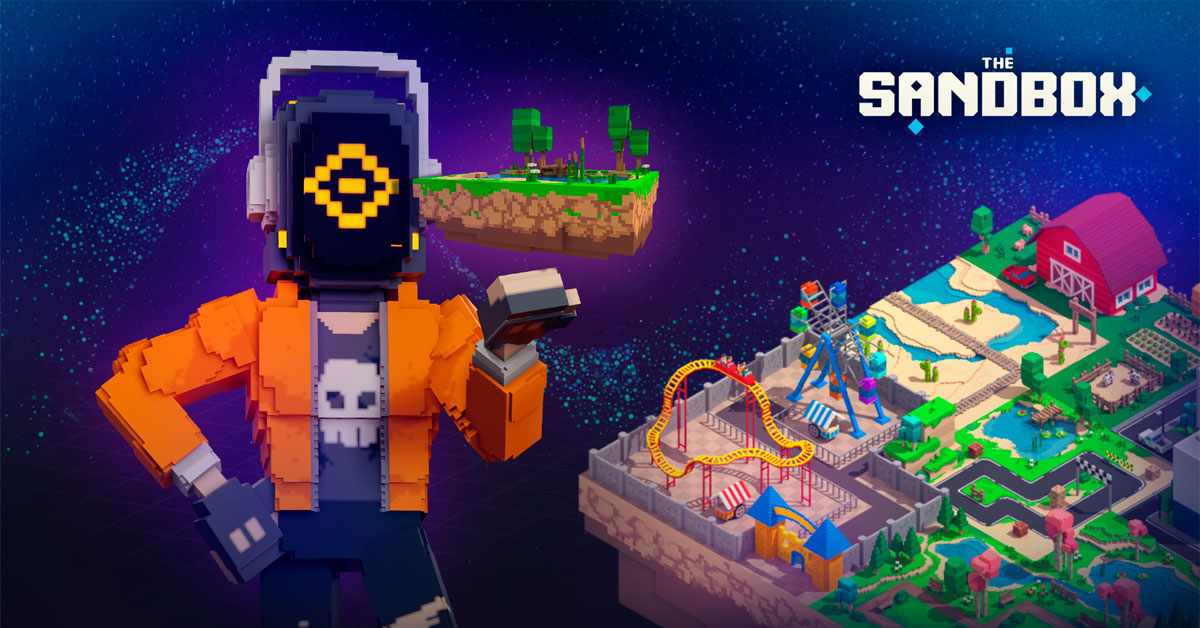 New The Sandbox Game Coming Soon with Voxels, NFTs, and Monetization