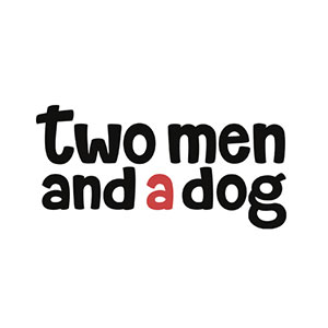 Two Men and a Dog