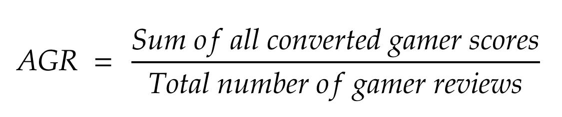 AGR Equation