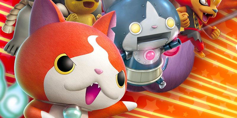 YO KAI WATCH BLASTERS: Red Cat Corps