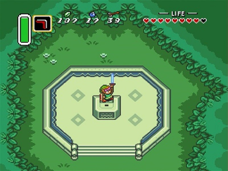 A still from A Link to the Past