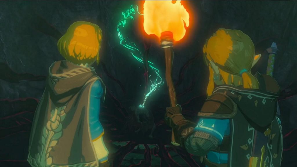 A still from the Legend of Zelda: Breath of the Wild sequel trailer