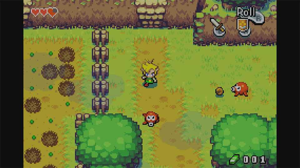 Still from The Legend of Zelda: The Minish Cap