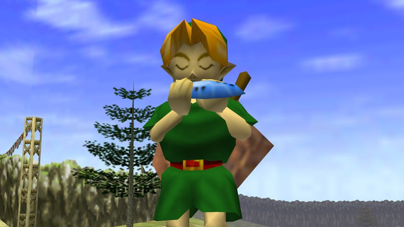 A still from The Legend of Zelda: Ocarina of Time