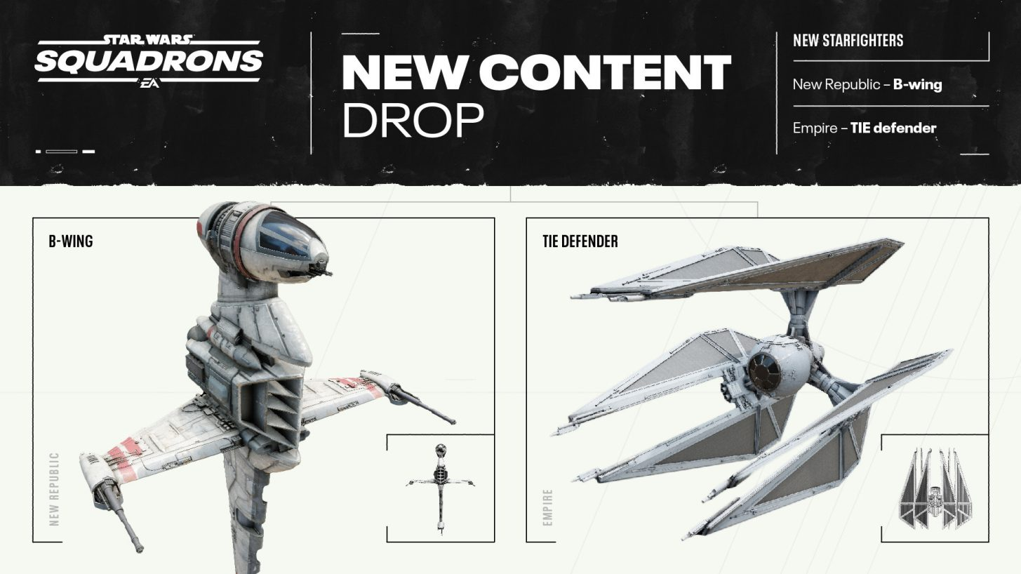 Star Wars Squadrons New Content Drop
