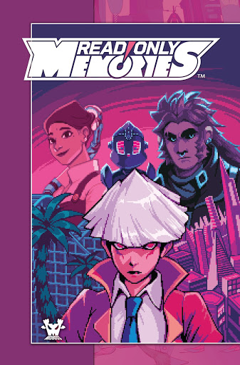 Read Only Memories NEURODIVER to Release with Tie-In Comic