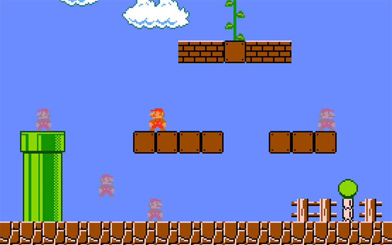Super Mario Bros Takes On Battle Royale in Fanmade Browser Game