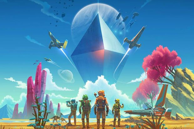 No Man Sky's latest update introduces Online Multiplayer, Virtual Reality and alien-mounting!