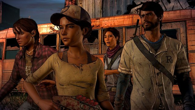 Skybound's The Walking Dead: The Telltale Definitive Series is out now!
