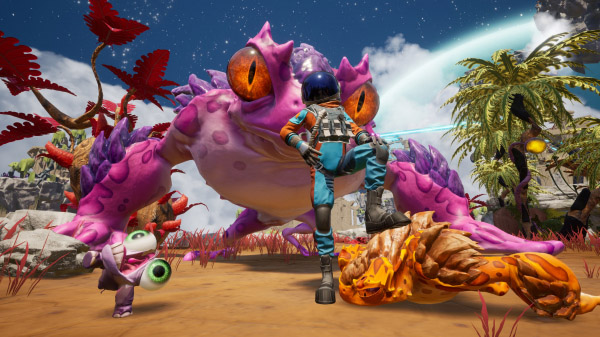Journey To The Savage Planet Releases on the Switch
